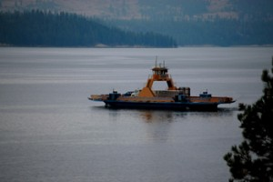 Roosevelt Lake Ferry